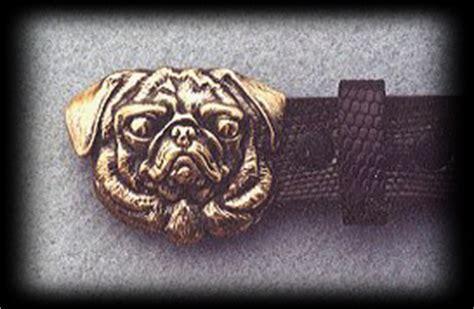 pug belt buckle pug