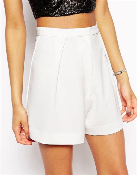 Highwaist White white high waist shorts hardon clothes