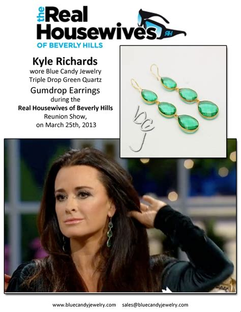 kyle richards earrings reunion 2015 17 best images about famous people on pinterest total