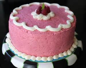 yellow cake with fresh raspberry buttercream recipemuse