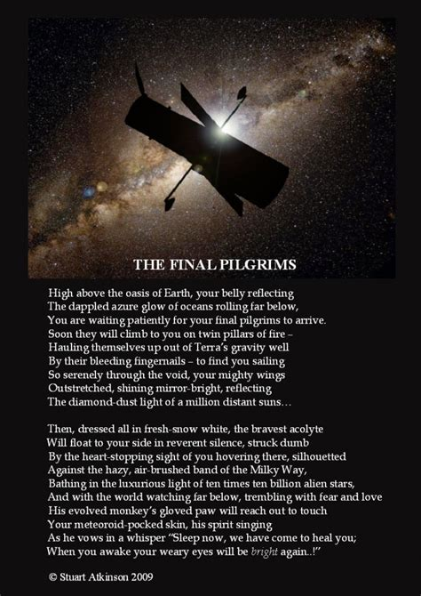 an exploration in following term missions and saying yes to jesus books poetry in space pilgrims to the hubble space