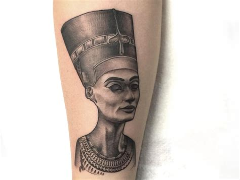 nubian queen tattoo nefertiti tattoos www pixshark