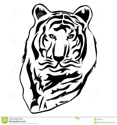 imagenes lineas negras ilustraci 243 n del tigre en l 237 neas negras fotos de archivo