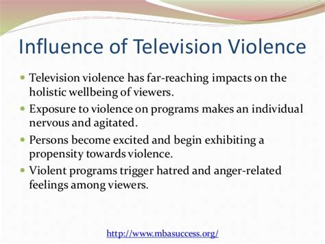 Children And Tv Violence Essays by Essays On Television Violence Writefiction581 Web Fc2