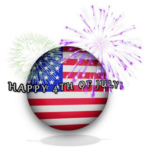 4th of july clipart gifs