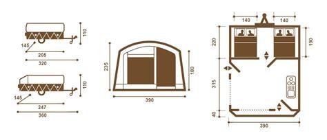 carrello tenda rapido carrello tenda galleon senza cucina grosso vacanze