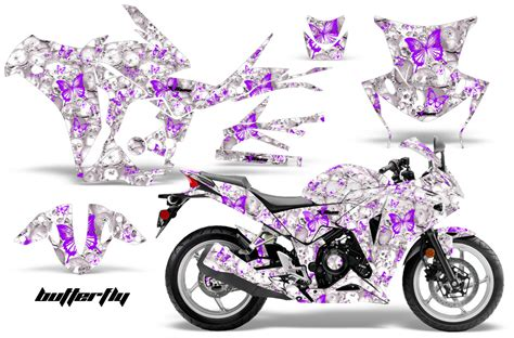 T Shirt 250rr honda cbr 250r 10 13 amr graphics kit wrap butterfly