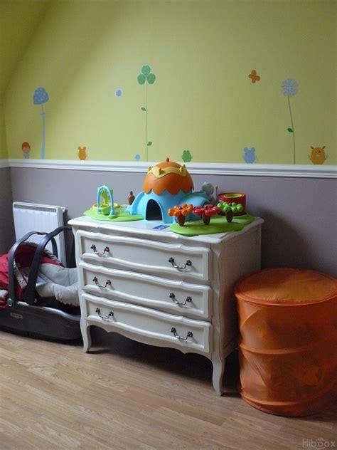 chambre bebe fille orange