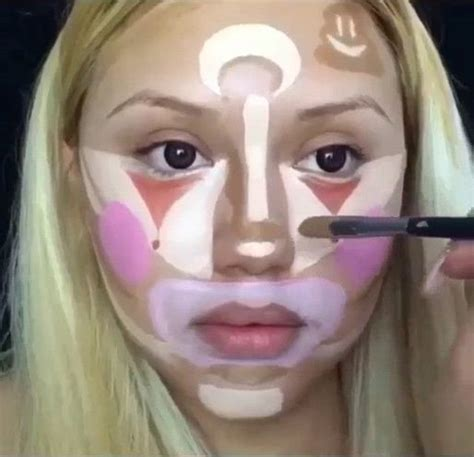 makeup for women in their 70s tutorial 70s makeup tutorial for clown contouring now unveiled