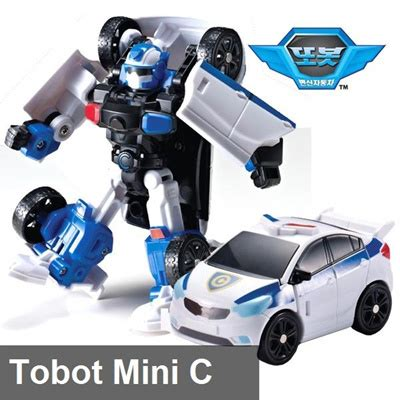Toys Tobot Mini C By Anicore qoo10 big hit item tobot mini c transformer robot