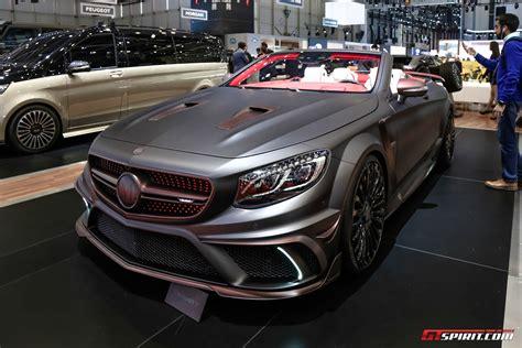 mansory cars geneva 2017 mansory s63 convertible gtspirit