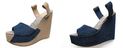 Repeat Trend Wedges by Diy Denim Wedges On What I Wore