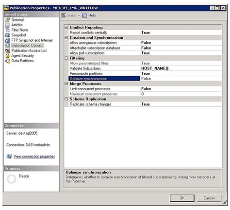 ref 70 767 implementing a sql data warehouse books replication settings deploying merge replication