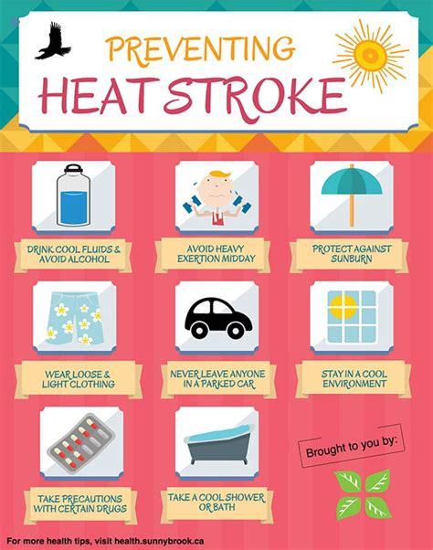 7 Ways To Avoid A Stroke by How To Spot Signs And Prevent Heat Exhaustion Heat Stroke