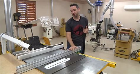 woodwhisperer table saw fence review quot the possibilities
