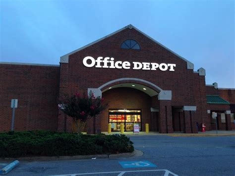 office depot office equipment chesapeake va yelp