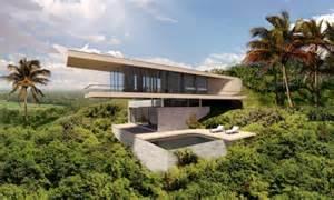 Beach House Plans For Narrow Lots bali house concept design e architect