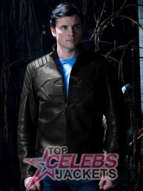 Jaket Hm 9 C Superman superman smallville tom welling black jacket by jennywatsonkel on deviantart