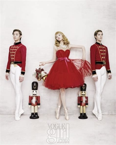 ballerina ballet christmas fashion korea image