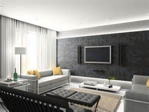 grey black yellow white living room for the home juxtapost