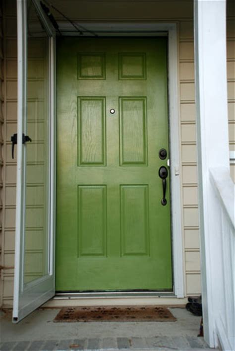green front door top 20 pinterest projects to update your home