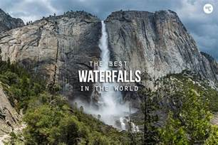 waterfalls in the world world s 25 most amazing waterfalls pictures