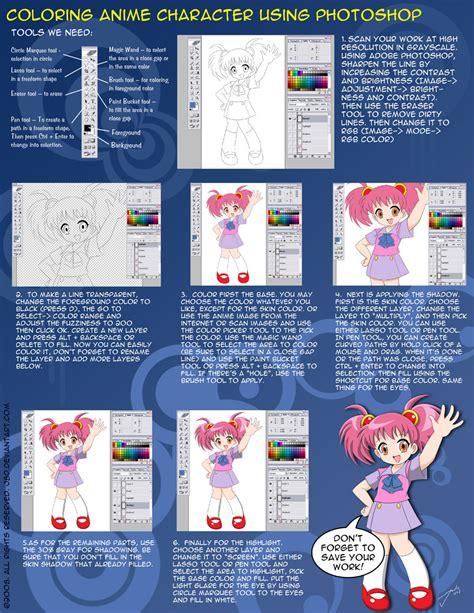 Tutorial Coloring Photoshop Cs3 | photoshop coloring tutorial by j8d on deviantart