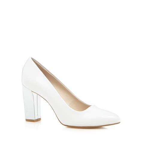 principles by ben de lisi designer white metallic heel