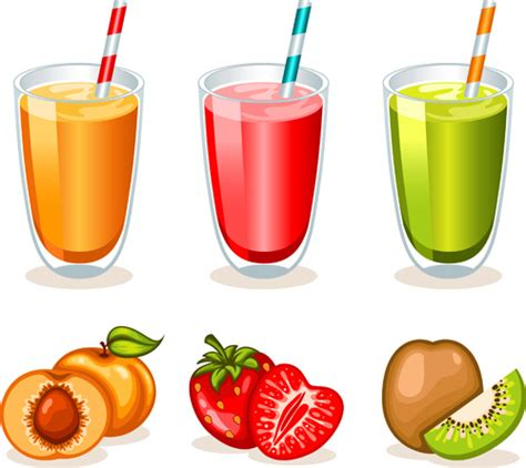 cocktail svg fruit drinks food vector graphic set free vector in adobe