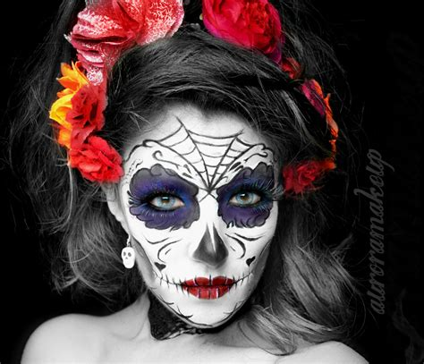 imagenes mujeres pintadas de catrinas catrina colorida tutorial youtube