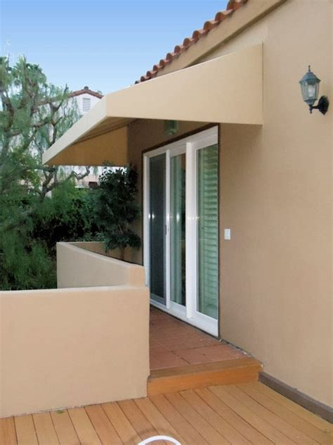 french door awnings french door awning contemporary exterior los angeles
