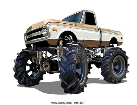 bigfoot monster truck cartoon monster truck bigfoot stock photos monster truck bigfoot
