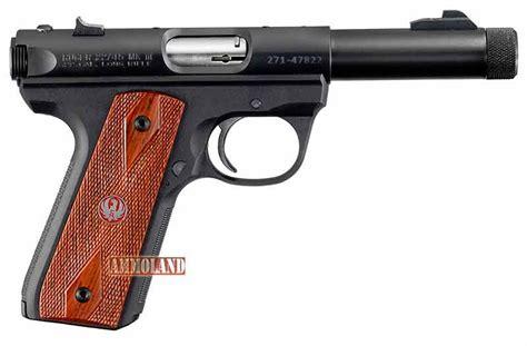 barrel 22 pistol ruger introduces 22 45 pistols with threaded barrels