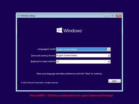 windows reset password sticky keys reset lost windows 10 password with sticky keys method