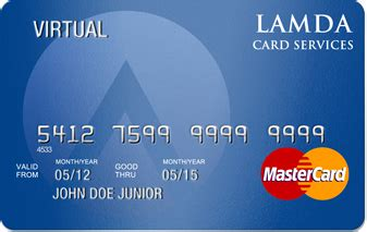 Mastercard Virtual Gift Card - activate your lamda mastercard 174 lamda card services