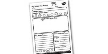 Academic Report Writing Uk by School Trip Report Writing Frame School Trip Trip Report