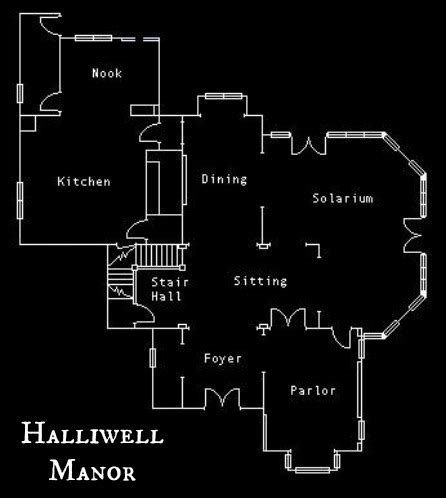 Charmed House Floor Plan Inside Halliwell Manor From The Tv Show Quot Charmed Quot