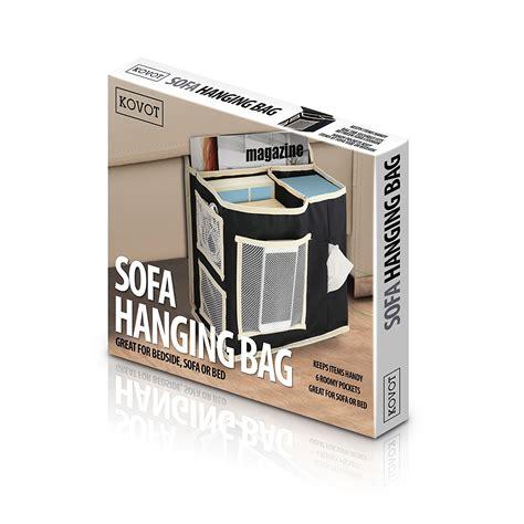 Bedside Hanging Pocket bedside or sofa hanging storage 6 pocket organizer kovot