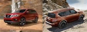 Nissan Pathfinder Vs Armada 2017 Nissan Pathfinder Vs 2017 Nissan Armada
