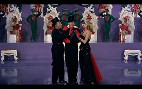 rosemary clooney white christmas costume bing crosby danny kaye and rosemary clooney in white