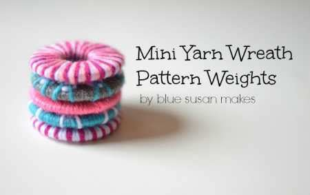 pattern weights pdf tutorial yarn wrapped pattern weights sewing
