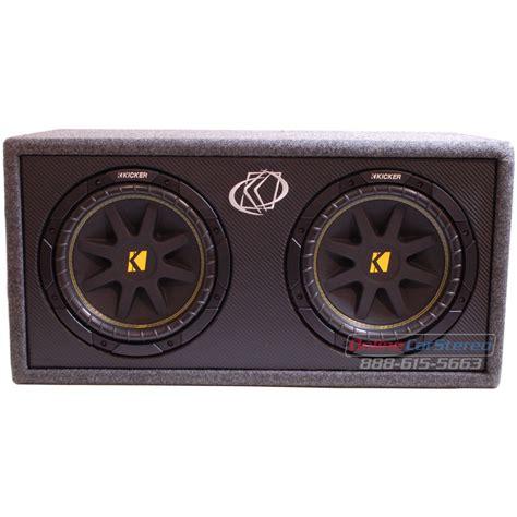Speaker Kicker kicker dc124 10dc124 subwoofer enclosure loaded with