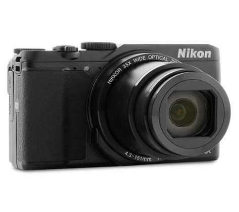 buy nikon coolpix a900 superzoom compact black free delivery currys