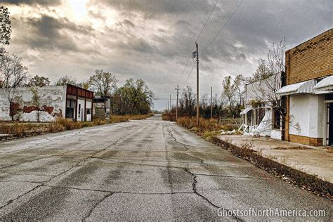 Deserted Places by Picher Oklahoma Ghosts Of North America
