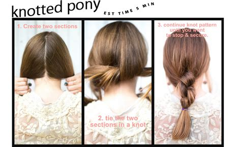 Pretty Hairstyles For School Step By Step by Pretty Hairstyles For School Step By Step Www Pixshark