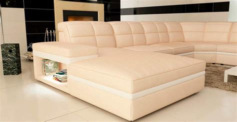 cream leather sectional sofa cream and white leather sectional sofa vg130 leather