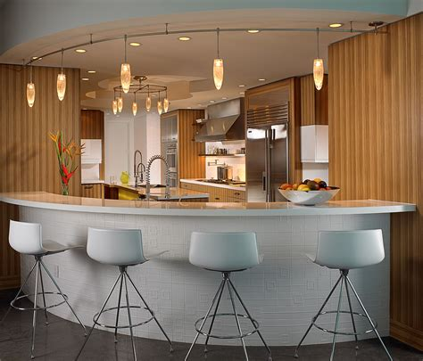 beautiful black grey wood stainless glass luxury design beautiful spacious bar in the restaurant modern home