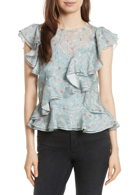 Sale Bangkok Organza Top serra organza top casual shirts shop it to me