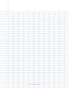 column paper template printable 12 column paper