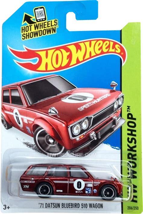 Hotwheels Circle Trucker Th Treasurehunt 71 datsun bluebird 510 wagon wheels 2014